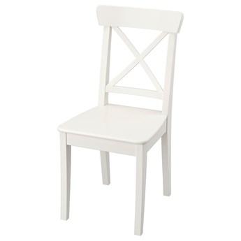 IKEA INGOLF Krzesło, biały, Przetestowano dla: 110 kg