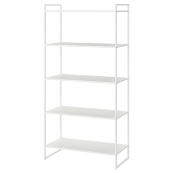 IKEA JONAXEL Regał, biały, 80x38x160 cm