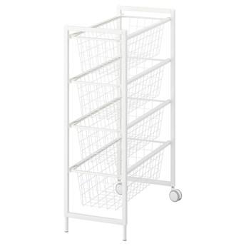 IKEA JONAXEL Regał, biały, 25x51x73 cm