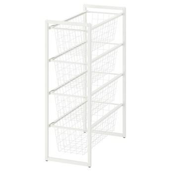 IKEA JONAXEL Regał, biały, 25x51x70 cm