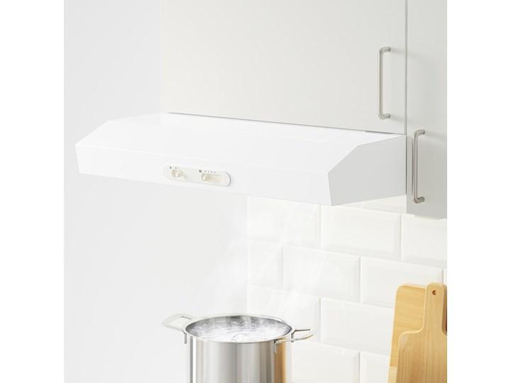 IKEA KNOXHULT Kuchnia narożna, biały, 243x164x220 cm Kategoria Zestawy mebli kuchennych Kolor Beżowy