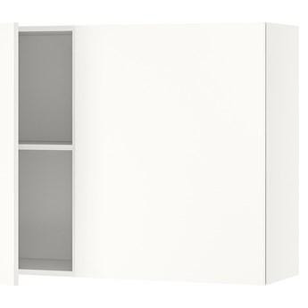 IKEA KNOXHULT Szafka ścienna z drzwiami, biały, 120x75 cm