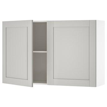 IKEA KNOXHULT Szafka ścienna z drzwiami, szary, 120x75 cm