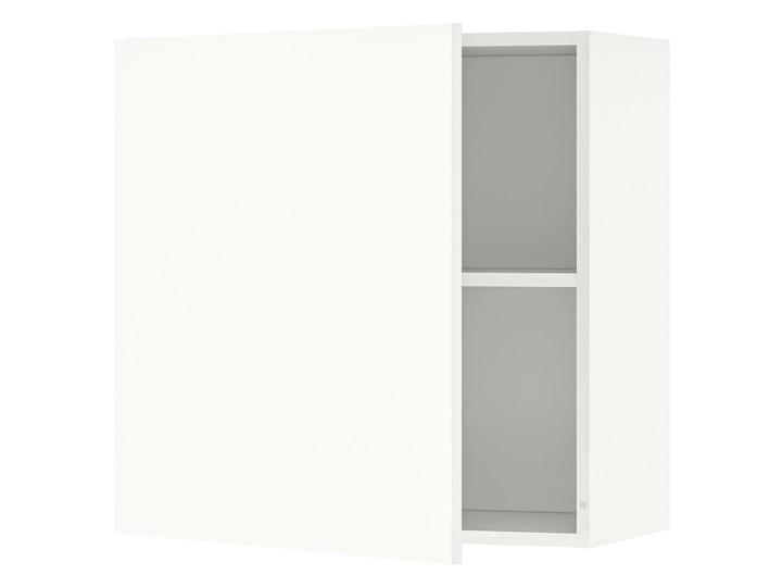 IKEA KNOXHULT Szafka wisząca z drzwiczkami, biały, 60x60 cm Płyta MDF Kategoria Szafki kuchenne