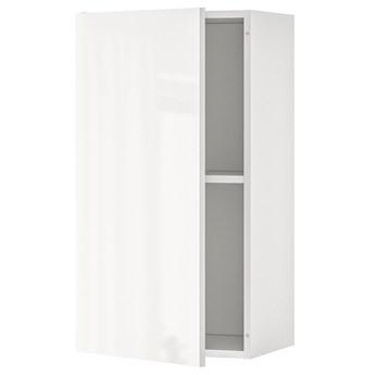 IKEA KNOXHULT Szafka wisząca z drzwiczkami, połysk biały, 40x75 cm