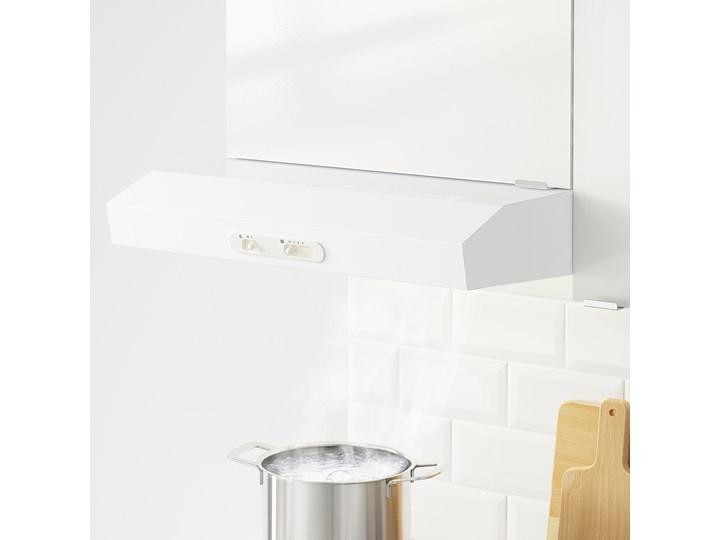IKEA KNOXHULT Szafka wisząca z drzwiczkami, połysk biały, 60x60 cm Płyta MDF Kategoria Szafki kuchenne