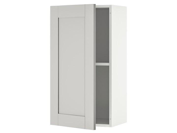 IKEA KNOXHULT Szafka wisząca z drzwiczkami, szary, 40x75 cm Płyta MDF Kategoria Szafki kuchenne