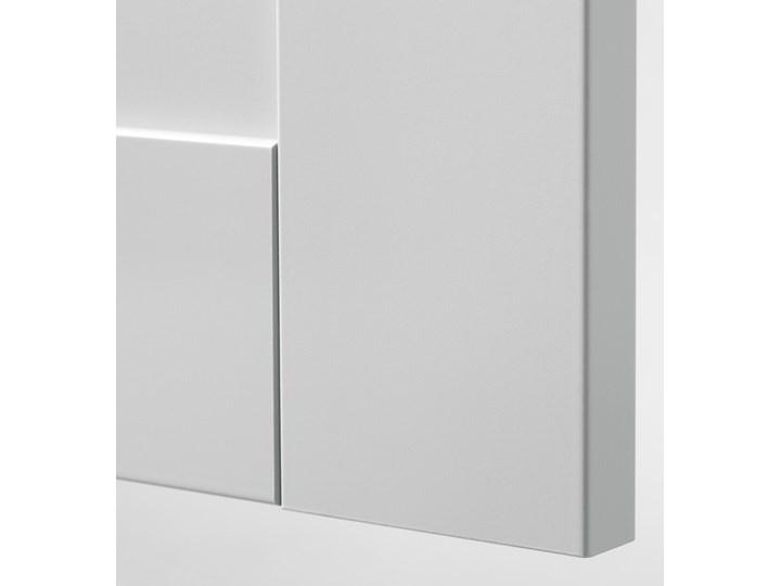 IKEA KNOXHULT Szafka wisząca z drzwiczkami, szary, 60x75 cm Płyta MDF Kategoria Szafki kuchenne