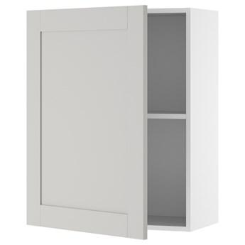 IKEA KNOXHULT Szafka wisząca z drzwiczkami, szary, 60x75 cm