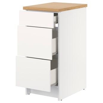 IKEA KNOXHULT Szafka z szufladami, biały, 40 cm