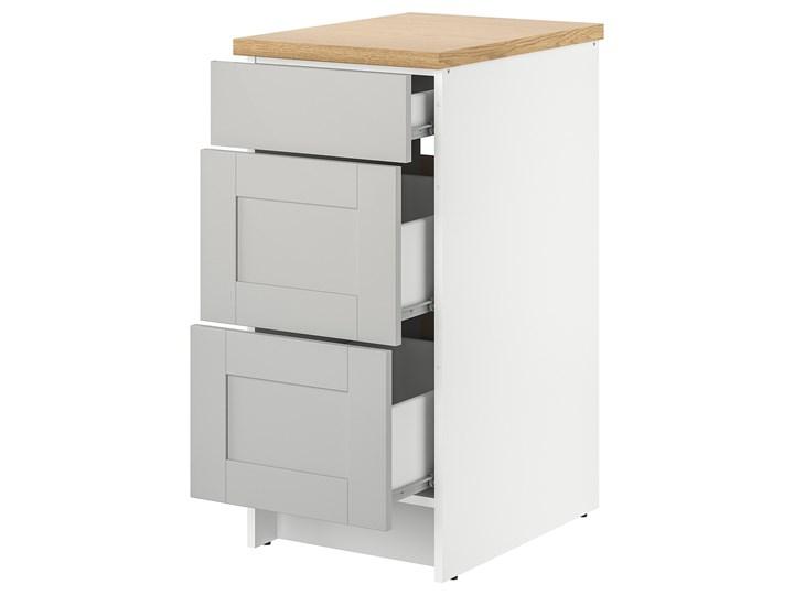 IKEA KNOXHULT Szafka z szufladami, szary, 40 cm Płyta MDF Kategoria Szafki kuchenne