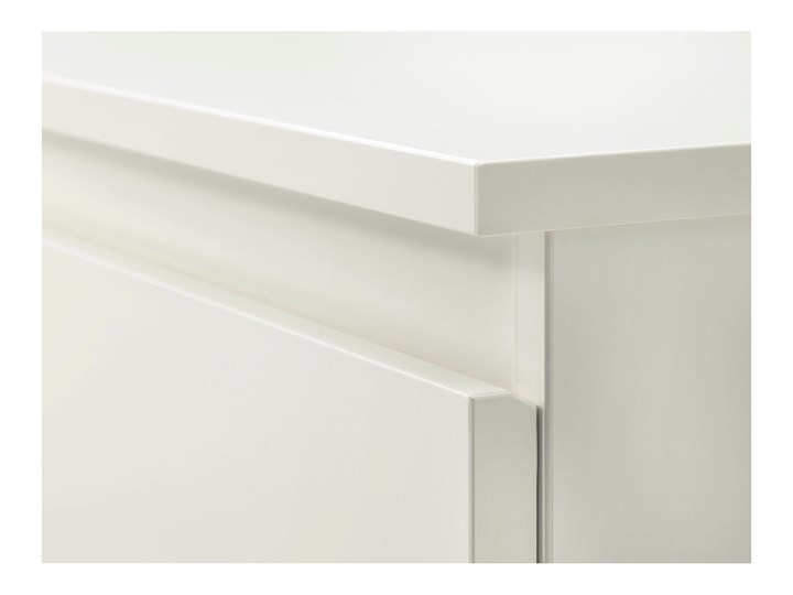 IKEA KULLEN Komoda, 6 szuflad, Biały, 140x72 cm Szerokość 140 cm Płyta MDF Kategoria Komody