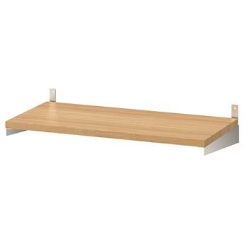 IKEA KUNGSFORS Półka, Bambus, 60 cm