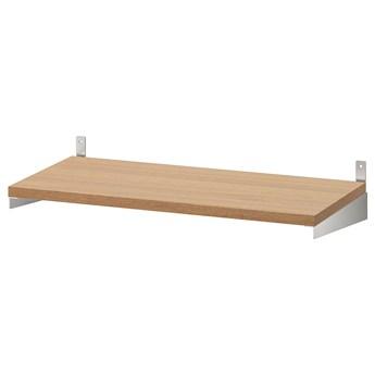 IKEA KUNGSFORS Półka, Okleina jesionowa, 60 cm