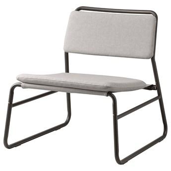 IKEA LINNEBÄCK Fotel, Orrsta jasnoszary, Szerokość: 55 cm