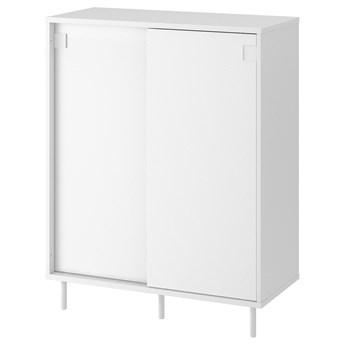 IKEA MACKAPÄR Szafka na buty, biały, 80x35x102 cm
