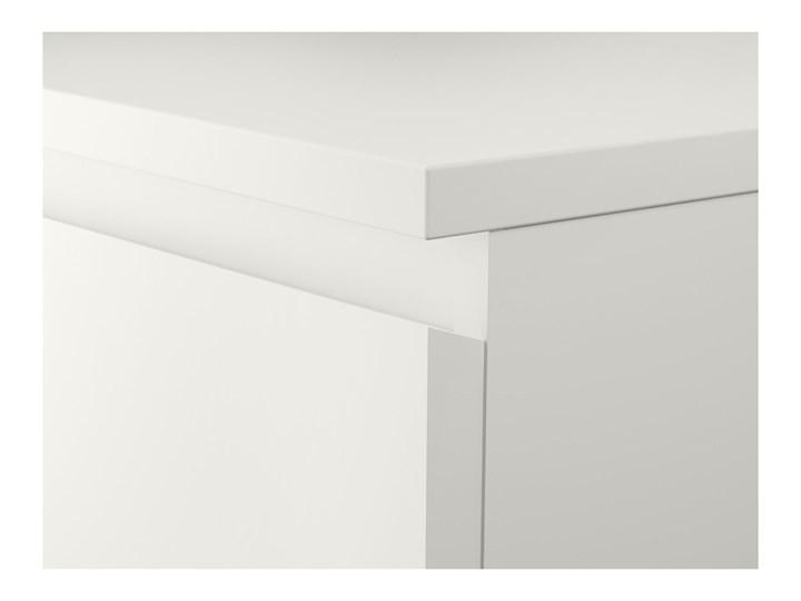 IKEA MALM Komoda, 3 szuflady, Biały, 80x78 cm Płyta MDF Pomieszczenie Sypialnia Szerokość 80 cm Kategoria Komody