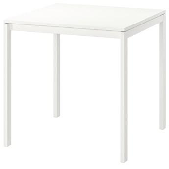 IKEA MELLTORP Stół, Biały, 75x75 cm