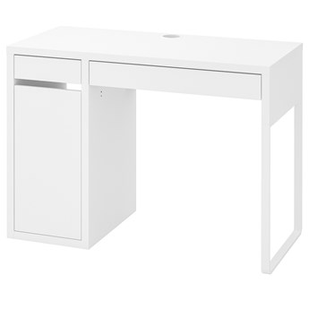 IKEA MICKE Biurko, Biały, 105x50 cm