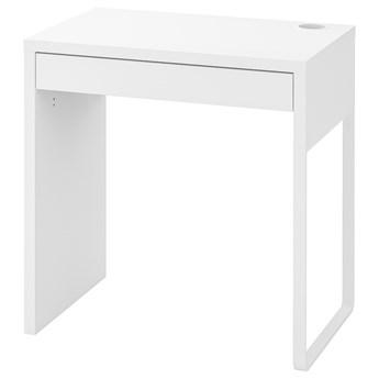 IKEA MICKE Biurko, Biały, 73x50 cm