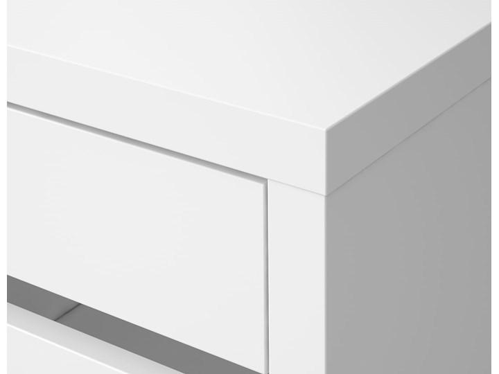 IKEA MICKE Biurko, Biały, 105x50 cm Szerokość 105 cm Pomieszczenie Biuro Biurko regulowane Płyta MDF Kategoria Biurka