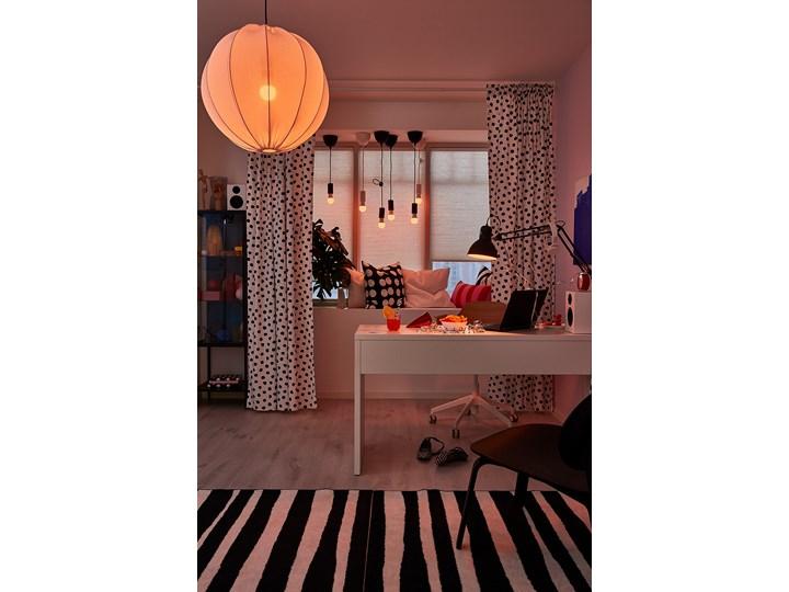 IKEA MICKE Biurko, Biały, 142x50 cm Szerokość 142 cm Biurko tradycyjne Pomieszczenie Pokój nastolatka Stal Płyta MDF Kategoria Biurka
