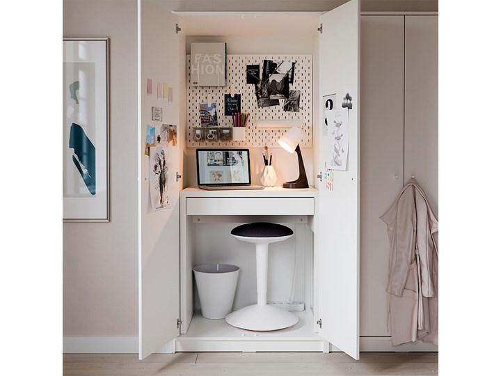 IKEA MICKE Biurko, Biały, 73x50 cm Głębokość 73 cm Płyta MDF Szerokość 73 cm Kategoria Biurka