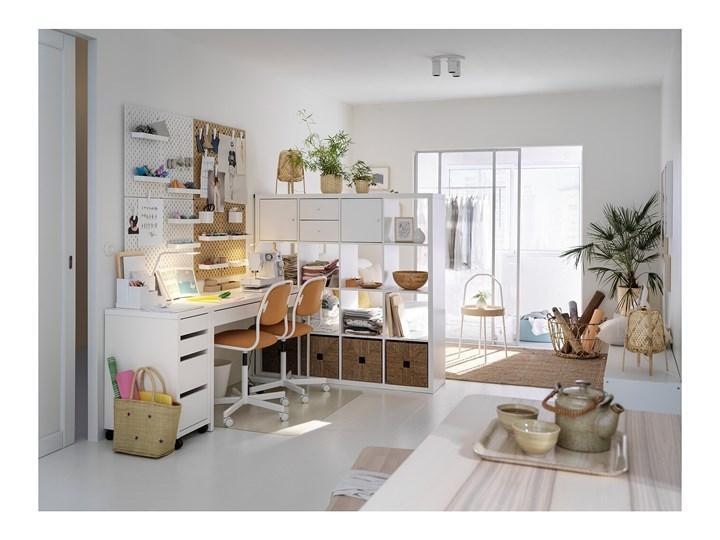 IKEA MICKE Komoda na kółkach, Biały, 35x75 cm Płyta meblowa Płyta MDF Płyta laminowana Pomieszczenie Biuro i pracownia