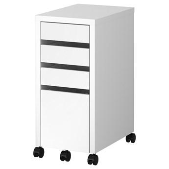 IKEA MICKE Komoda z miejscem na dokumenty, Biały, 35x75 cm