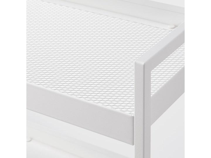IKEA NISSAFORS Wózek, Biały, 50.5x30x83 cm Kategoria Wózki kuchenne