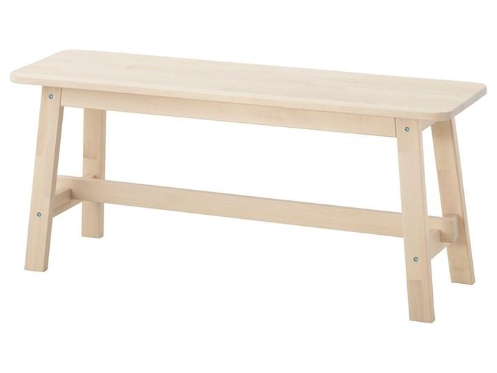 IKEA NORRÅKER Ławka, brzoza, 103 cm