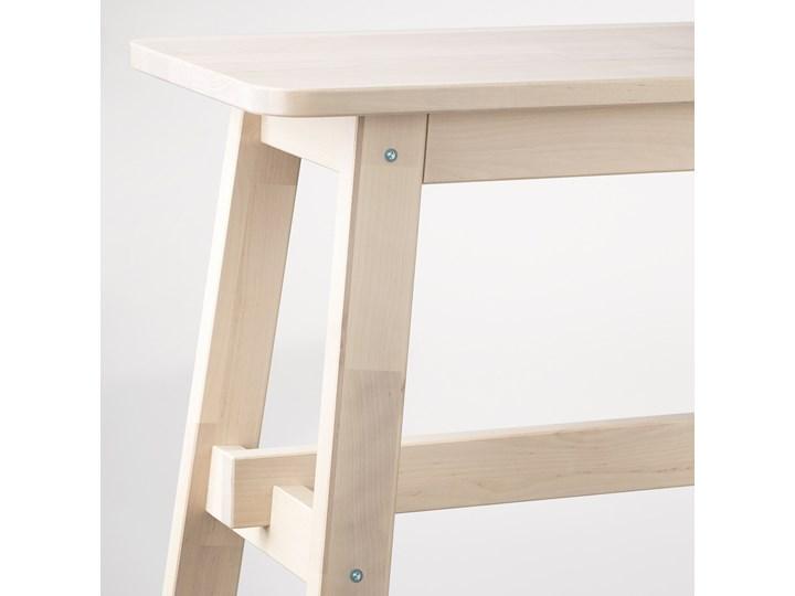IKEA NORRÅKER Ławka, brzoza, 103 cm Styl Minimalistyczny