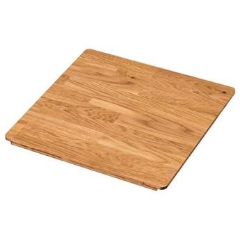 IKEA NORRSJÖN Deska do krojenia, dąb, 44x42 cm