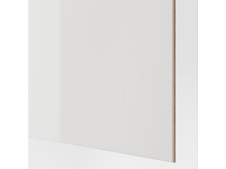 IKEA PAX / HOKKSUND Kombinacja szafy, biały/połysk jasnoszary, 150x66x201 cm Kategoria Szafy do garderoby Płyta laminowana Pomieszczenie Sypialnia