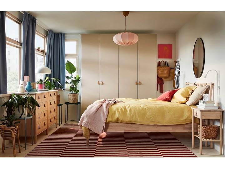 IKEA PAX / REINSVOLL Kombinacja szafy, biały/szarobeżowy, 200x60x201 cm Tworzywo sztuczne Stal Metal Plastik Lustro