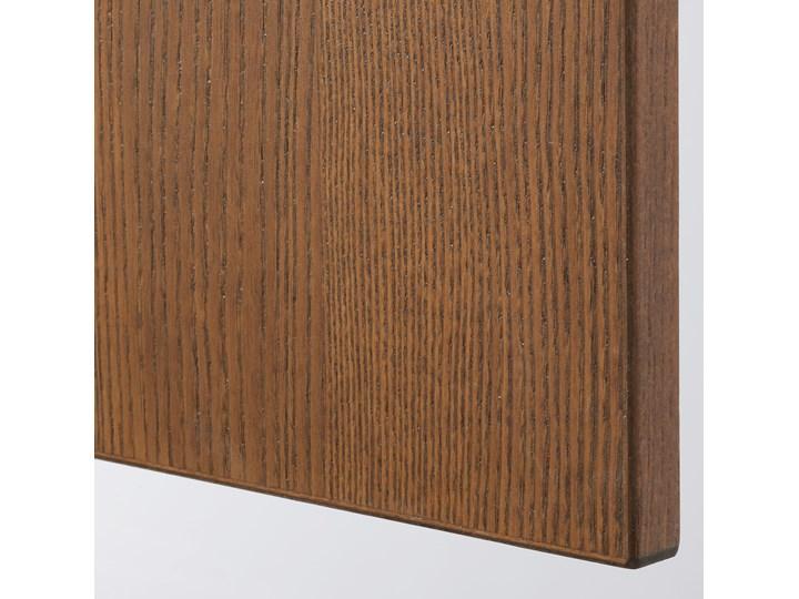 IKEA PAX Szafa, imitacja okleiny bejc na brąz/Forsand imitacja okleiny bejc na brąz, 150x60x236 cm Szerokość 150 cm Płyta laminowana Wysokość 236,4 cm Głębokość 60 cm Kolor Brązowy Lustro