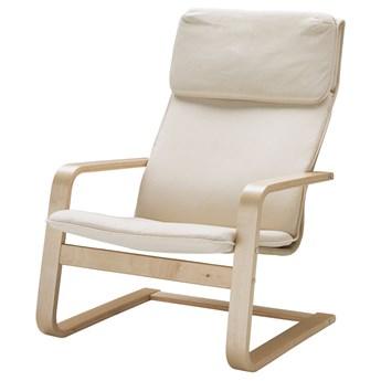 IKEA PELLO Fotel, Holmby naturalny, Szerokość: 67 cm