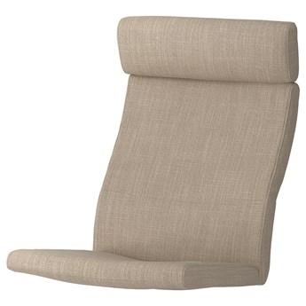 IKEA POÄNG Poduszka fotela, Hillared beżowy, Długość: 137 cm