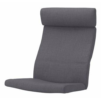 IKEA POÄNG Poduszka fotela, Skiftebo ciemnoszary, Długość: 137 cm