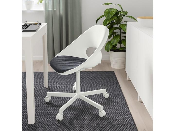 IKEA PYNTEN Poduszka na krzesło, Ciemnoszary, 41x43 cm Kategoria Siedziska na krzesła
