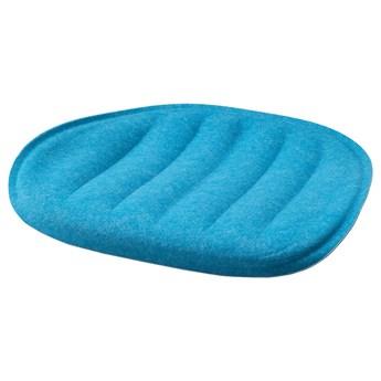 IKEA PYNTEN Poduszka na krzesło, Niebieski, 41x43 cm