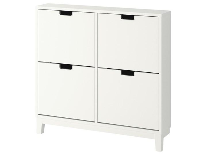 IKEA STÄLL Szafka na buty, 4 przegrody, biały, 96x17x90 cm