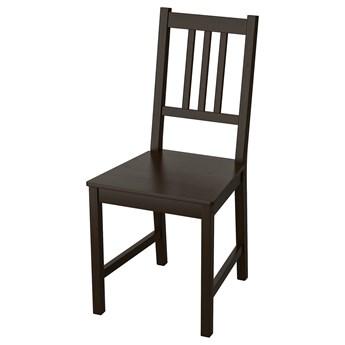 IKEA STEFAN Krzesło, brązowoczarny, Przetestowano dla: 110 kg