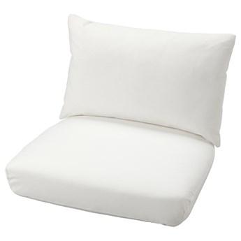 IKEA STOCKHOLM 2017 Komplet poduszek na fotel, Gräsbo biały, Waga wypełnienia: 500 g