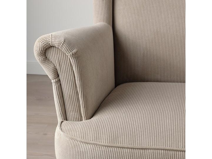 IKEA STRANDMON Fotel uszak, Kelinge beżowy, Szerokość: 82 cm Tkanina Drewno Pomieszczenie Salon Tworzywo sztuczne Kategoria Fotele do salonu