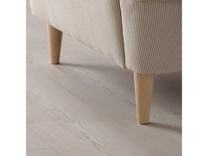 IKEA STRANDMON Fotel uszak, Kelinge beżowy, Szerokość: 82 cm Kategoria Fotele do salonu Tkanina Tworzywo sztuczne Drewno Pomieszczenie Salon