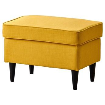 IKEA STRANDMON Podnóżek, Skiftebo żółty, Szerokość: 60 cm