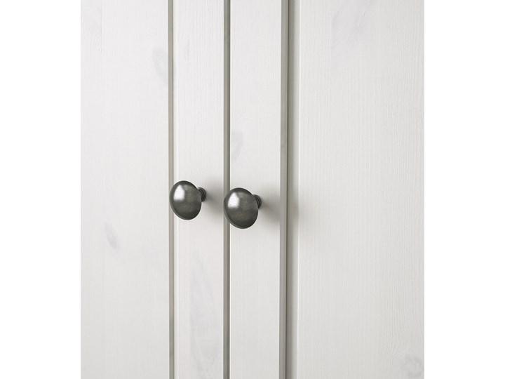 IKEA SUNDVIK Szafa, Biały, 80x50x171 cm Rodzaj drzwi Uchylne Drewno Płyta MDF Rodzaj frontów Mat