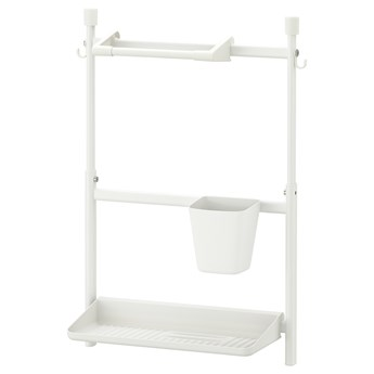 IKEA SUNNERSTA Organizer kuchenny zest, bez wiercenia/uchw pap kuch/ociek/poj, Szerokość: 45.7 cm