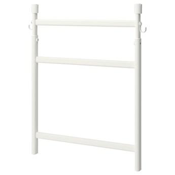 IKEA SUNNERSTA Regulowany stojak z haczykami, Szerokość: 45.7 cm